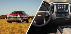 Impressive from every angle. Get it all with your new Silverado during Chevy Truck Month at Chevrolet Cadillac of Santa Fe. http://pbxx.it/s8YJxk