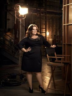 Melissa McCarthy...love her, sweetest person ever!!!