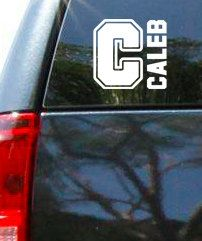 Personalized Name Vinyl Vehicle Decal by designstudiosigns on Etsy, $10.00 Vehicle Decals, Car Decals, Vinyl Decals, Wood Vinyl, Vinyl Wall Art, Wedding Shower Signs, Sports Office, Sports Decals, Art Birthday