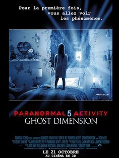 Paranormal Actvity 5 - Ghost Dimension - Affiche France
