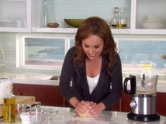 Homemade Pasta Video by Giada : Food Network  *Use part cake flour for lighter pasta*