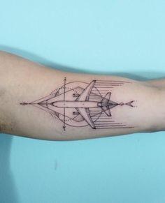 Bildergebnis für airplane tattoos