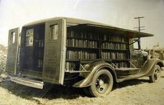 The Earliest Libraries-on-Wheels Looked Way Cooler Than Today's Bookmobiles | Smart News