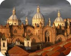 The Romanesque New Cathedral of Cuenca (Catedral de la Inmaculada Concepción) was designed by architect Juan Bautista Stiehle. Building started in 1885 and was completed in 1975.