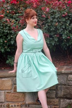 DIY Trompe L'WOW Dress w/ Side Pocket