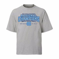 huge discount e1f72 f09c5 North Carolina Tar Heels 2017 National Championship Cut The Net T-Shirt