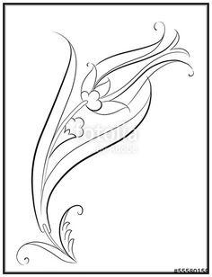 Vector: Lale Deseni Çizimi