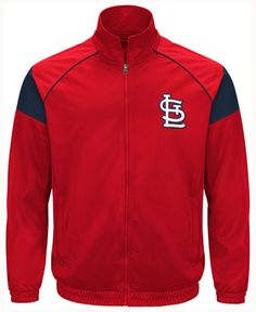 G3 Sports Men's St. Louis Cardinals End of Season Track Jacket
