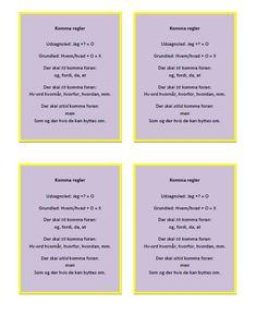 Skilte og plakater | joaneriksen.dk Bullet Journal Inspiration, Writing Inspiration, Live And Learn, Cooperative Learning, 13 Year Olds, Messages, Teaching, Education, School