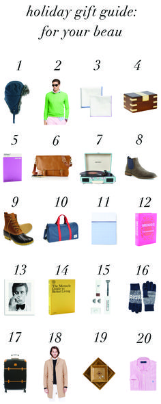 Gift ideas for your boyfriend or husband!