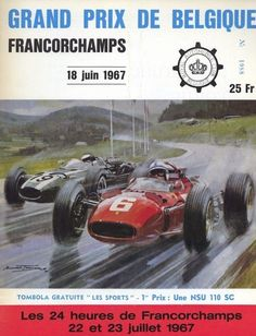 154GP - XXVII Grand Prix de Belgique 1967