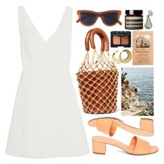 """""""AUGUST29"""" by mariimontero ❤ liked on Polyvore featuring Chloé, Staud, CÉLINE, NARS Cosmetics, Aesop, H&M and Dot & Bo"""