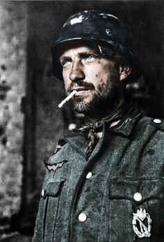 German Soldier with Infantry assault badge, Stalingrad 1942