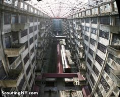Interior of Brooklyn's Army Terminal complex, built in 1918.