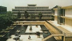McGregor Memorial Conference Center Reflecting Pool, Wayne State University