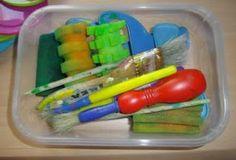 Para mi peque con amor: Algunos materiales y recursos para trabajar la expresión plástica.