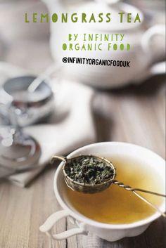 Infinity organic food - organic lemongrass tea Organic Food Companies, Oats Snacks, Honey Coffee, Lemongrass Tea, Organic Green Tea, Good Healthy Recipes, Lemon Grass, Organic Recipes, Granola