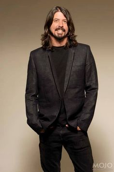 "Dave Grohl / ""Heavy Metal would not exist without Led Zeppelin, and if it did, it would suck. Foo Fighters Dave Grohl, Foo Fighters Nirvana, Beautiful Men, Beautiful People, There Goes My Hero, Taylor Hawkins, Raining Men, People Magazine, Led Zeppelin"