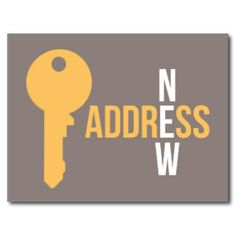 new address postcard photo postcards pinterest store and house