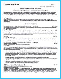 Data Scientist Resume Sample Environmental Science Resume Sample  Httpwwwresumecareer