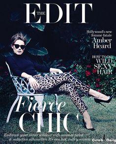 Amber Heard, The Edit Magazine [United Kingdom] (15 August 2013)