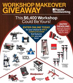 Win a $6400 workshop!