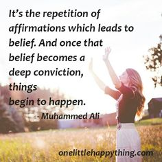 10 morning affirmations for a more positive day Success Quotes, Life Quotes, Muhammad Ali Quotes, Morning Affirmations, Truth Of Life, Morning Motivation, Words Of Encouragement, Self Help, Best Quotes