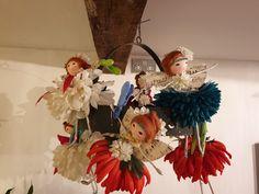 Beautiful handmade ooak by me at Flower Fairies, Fairy, Wreaths, Rose, Flowers, Cotton, Handmade, Beautiful, Home Decor