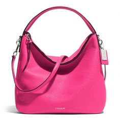 NEW 2014 summer arrival. I want!!!!  Bleecker Sullivan Hobo In Pebbled Leather from Coach