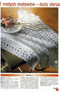 """Photo from album """"Robotki Reczne extra on Yandex. Japanese Crochet Patterns, Feeling Discouraged, Different Stitches, Small Blankets, Crochet Round, Crochet For Beginners, Learn To Crochet, Good Old, Washing Clothes"""