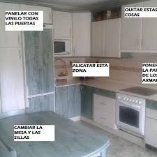 forrar los armarios de la cocina con vinilo | Sweet Home | Pinterest ...