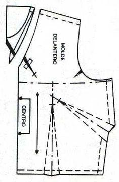 Tecnología: Trazo de diferentes tipos de escotes