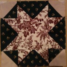 First block in Generals Wives quilt.