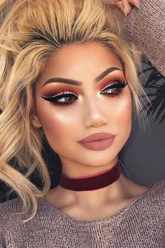 Eyemakeupart provides new eye makeup tutorial. How to make up your eye and how to do special design your eye. Prom Makeup, Cute Makeup, Gorgeous Makeup, Pretty Makeup, Wedding Makeup, Wedding Beauty, Dramatic Makeup, Dark Makeup, Skin Makeup