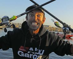 Mike Iaconelli fishing in Bass tourney on Bassmaster Elite Series
