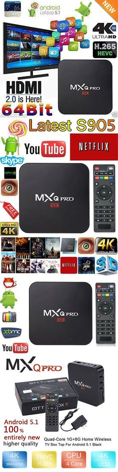 Cable TV Boxes: Fully Loaded 4K Mxq-Pro S905 Quad Core Android 6.0 Tv Box Hdmi Wifi Usa New Vip -> BUY IT NOW ONLY: $34.85 on eBay!