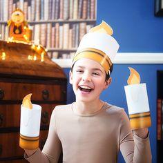 ¿Quieres disfrazarte como Lumiere, el candelabro encantado de la Bella y la Bestia? ¡Ya está aquí, ya está aquí, qué alegría para mi!