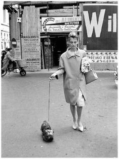 Audrey in Rome, c. 1960s
