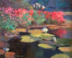 Kent R. Wallis ~ Impressionists painter | Masterpiece of Art