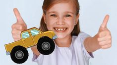 Monster Trucks for Children - Build It and Learn Colors Watch our monster trucks for children videos and learn! We build the Monster Truck and then we teach . Monster Truck Videos, Monster Trucks, Kids Fun, Cool Kids, Truck Videos For Kids, Learning Colors, Educational Videos, Cartoon Kids, Confirmation