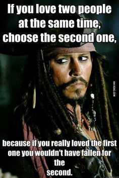What's a Horny pirate's worst nightmare? a sunken chest with no booty Captain Jack Sparrow Captain Jack Sparrow, Jack Sparrow Meme, Jack Sparrow Wallpaper, True Quotes, Funny Quotes, Pirate Quotes, Johnny Depp Quotes, Loving Two People, Pirates Of The Caribbean