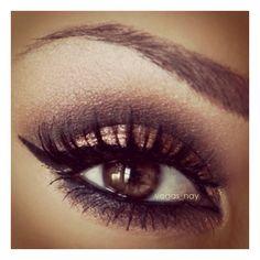 Eyeshadow ❤ liked on Polyvore