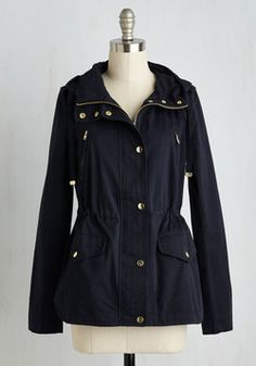 Woods You Be Mine? Jacket in Navy