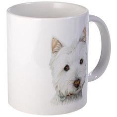 Westie Dog Mug on CafePress.com