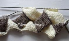 Техника вязания энтерлак спицами Fingerless Gloves, Arm Warmers, Granny Squares, Knitting And Crocheting, Handarbeit, Fingerless Mitts, Fingerless Mittens, Cuffs, Crochet Squares