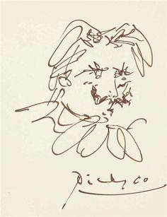 Pablo Picasso, Portrait de Déodat de Séverac