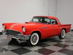 1957 Ford Thunderbird Convertible Maintenance/restoration of old/vintage vehicles: the material for new cogs/casters/gears/pads could be cast polyamide which I (Cast polyamide) can produce. My contact: tatjana.alic@windowslive.com