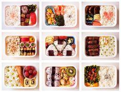 Imagem de food, sushi, and bento Smoothie Recipes, Snack Recipes, Cooking Recipes, Comida Picnic, Manger Healthy, Japanese Food Sushi, Easy Japanese Recipes, Bento Box Lunch, Aesthetic Food