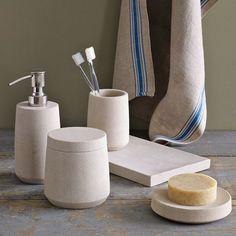 Stoneware Bath Accessories | west elm SALE
