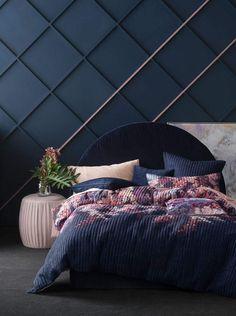 28 best dark blue bedrooms images colors blue bedroom color palettes rh pinterest com